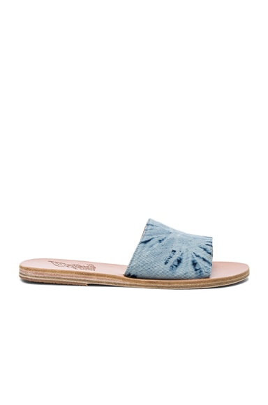 Denim Taygete Sandals