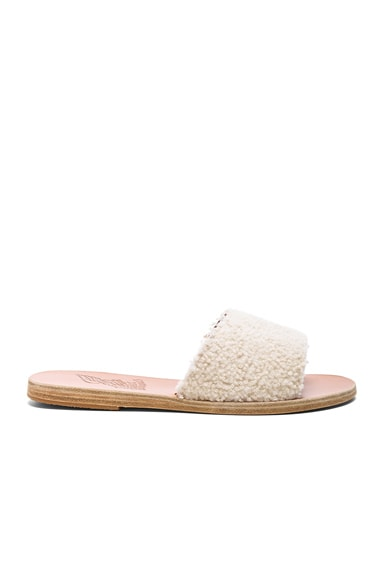 Sheep Fur Taygete Sandals