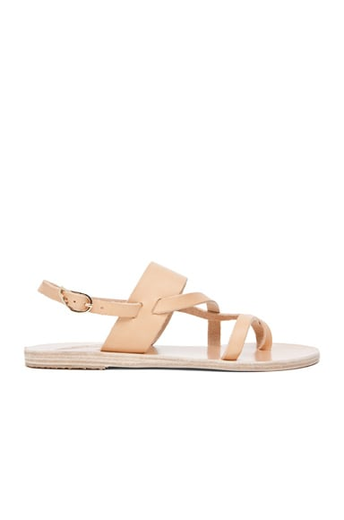 Alethea Calfskin Leather Sandals