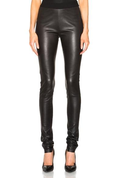 Peltry Leather Leggings