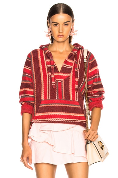 Baja Striped Sweatshirt
