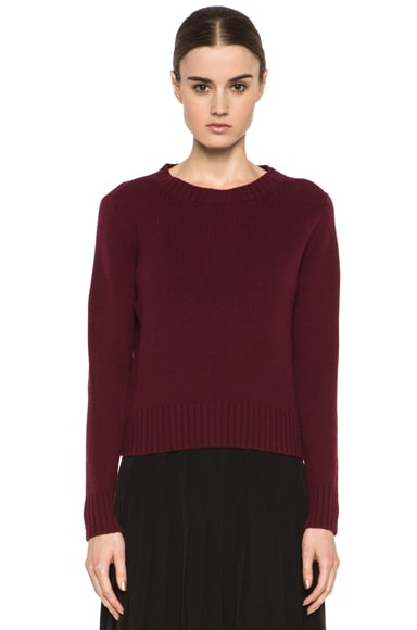 Wool-Blend Pullover