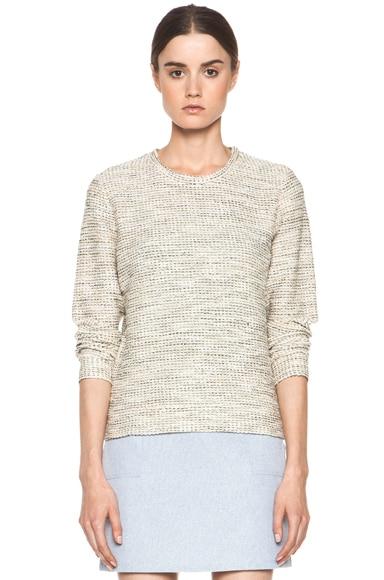 Gold Tweed Sweatshirt