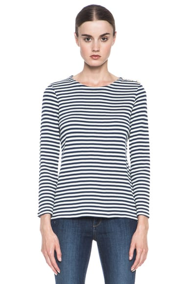 Cotton Striped Top