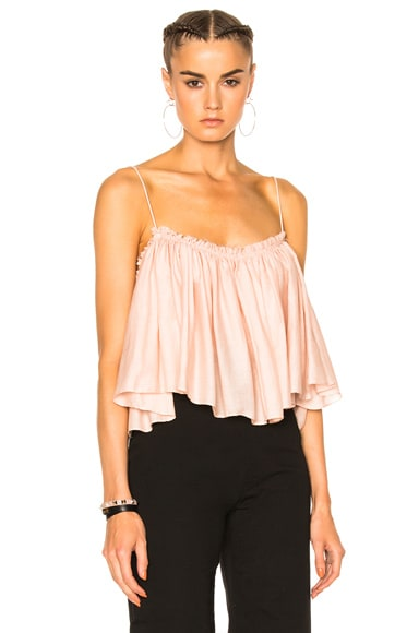 Sanna Cropped Camisole Top