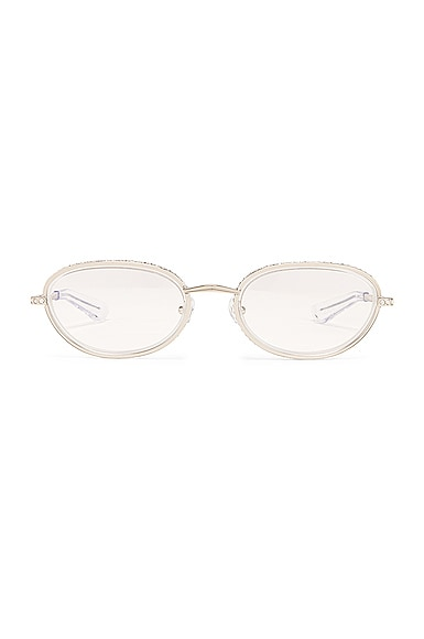 Crystal Oval Optical Glasses