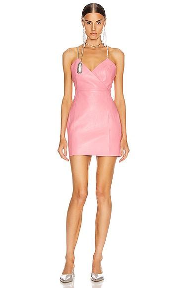 Chandelier Tassel Strap Mini Dress