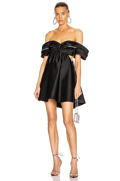 Crystal Cutout Draped Dress