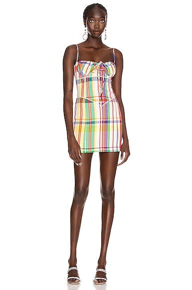 Crystal Sweetheart Mini Dress