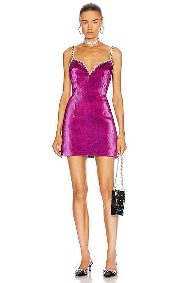Crystal Trim Sweetheart Dress