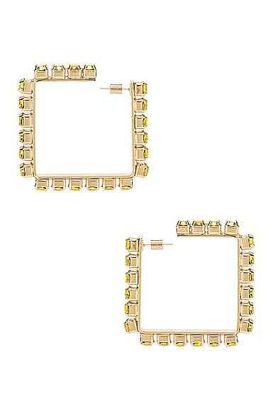 Medium Square Hoop Earrings