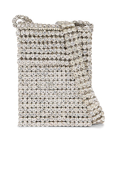 Crystal Flapper Mini Bag