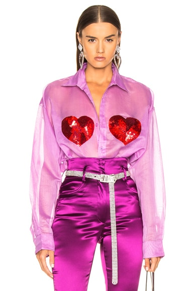 Classic Sequin Heart Shirt