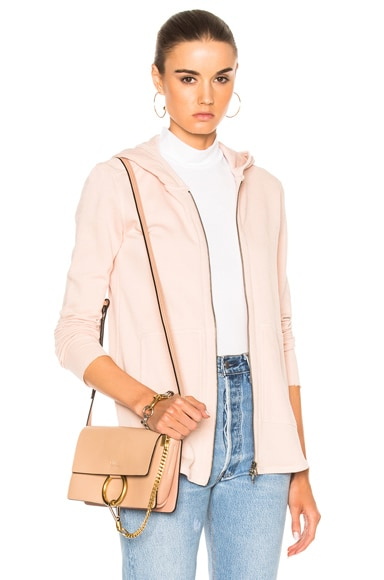 French Terry Zip Front Jacket