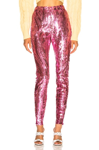 Fay Sequined Pants