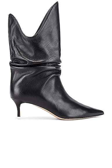 Kitten Heel Medium Boot