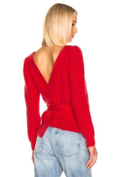 Open Back Sweater