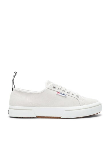 x Superga Low Top Suede Sneaker