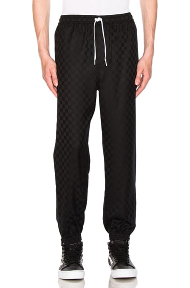 Checkerboard Track Pant