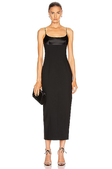 Tuxedo Cup Evening Dress