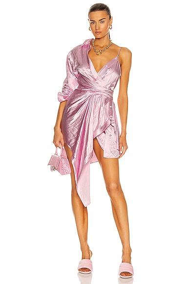 Alexander Wang Dresses ASYMMETRIC COLLAR DRESS