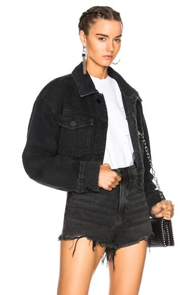 Cropped Oversized Jacket