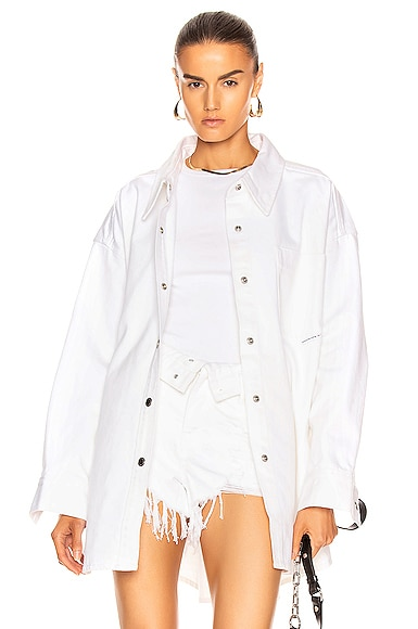 Runway Long Shirt Jacket
