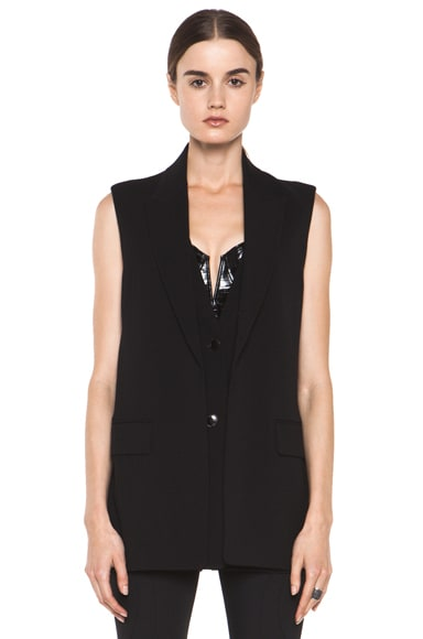 Double Front Vest with Split Back