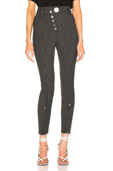 High Waisted Snapdetail Legging