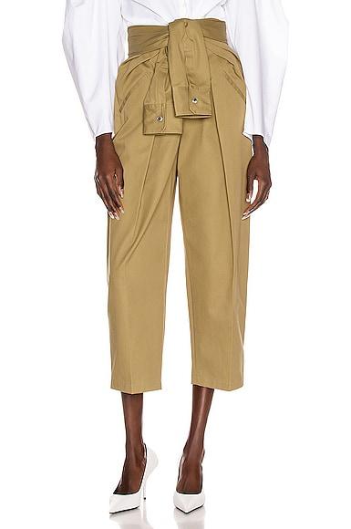 Tie Front Waist Trouser