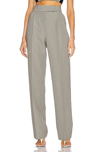 Alexander Wang Wools HIGH WAISTED PLEATED PANT