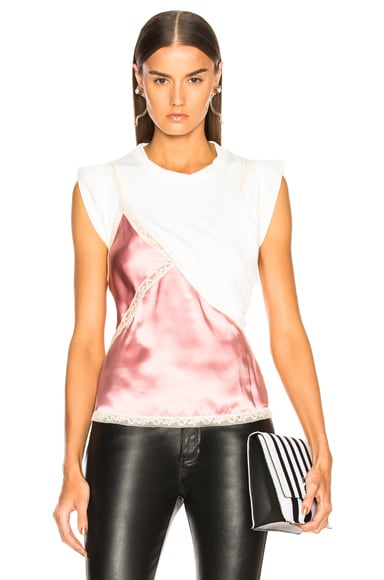 T Shirt Hybrid Cami Top