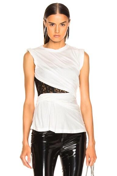 Lace Bustier T-Shirt