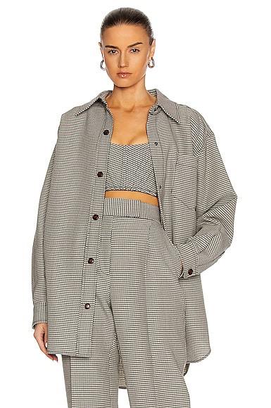 Alexander Wang OVERSIZED SHIRT JACKET