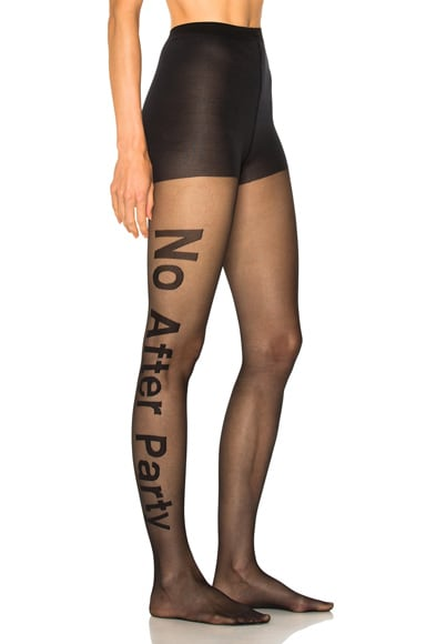 No After Party Hosiery