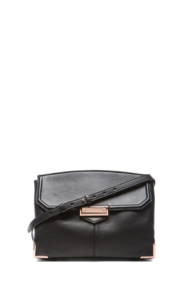 Large Marion Soft Pebble Leather with Rose Gold Hardware