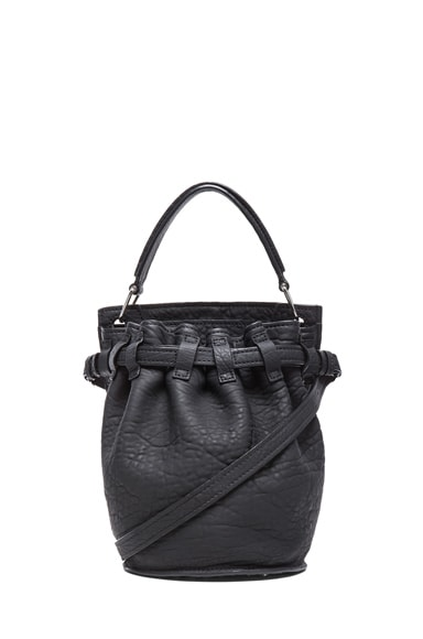 Inside Out Rubberized Diego Bucket Bag
