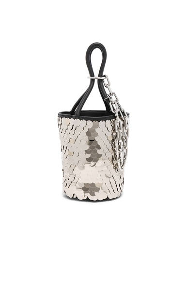 Roxy Sequin Mini Bucket Bag