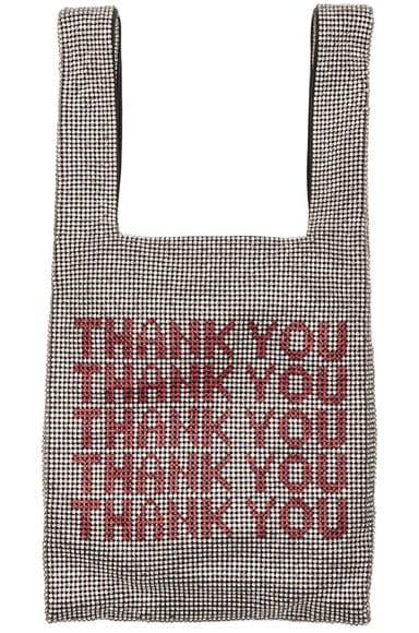 Wanglock Thank You Mini Shopper Bag