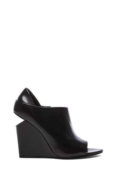 Alla Leather Wedges