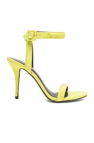 Antonia Suede Ankle Strap Heels