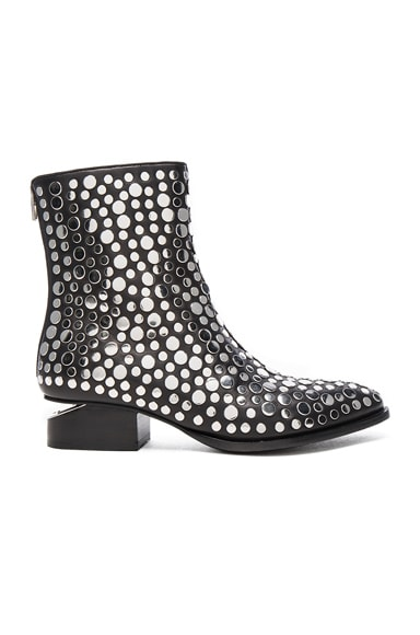 Studded Leather Anouk Booties