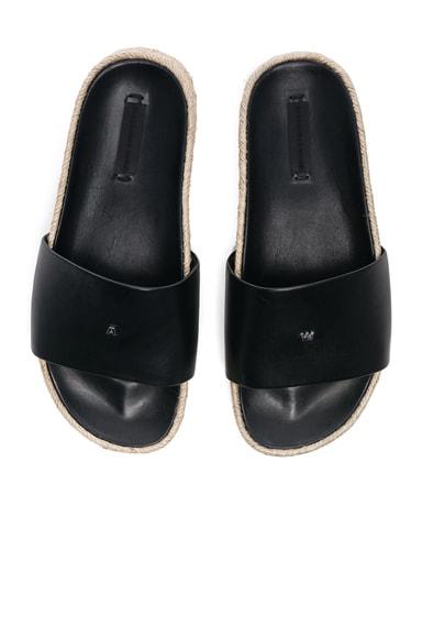 Leather Suki Slides
