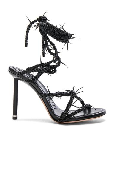 Leather Lexi Heels