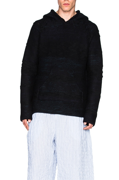 Hand Loom Cashmere Blend Sweater