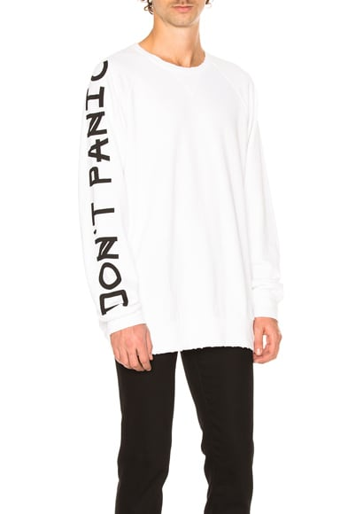 Don't Panic French Terry Sweatshirt