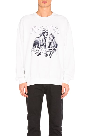 Horses Fleece Sweatshirt
