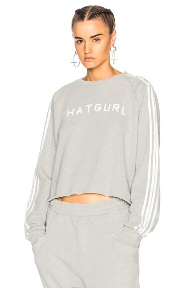 That Girl Cropped Sweatshirt