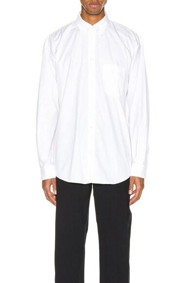 Long Sleeve Logo Tab Shirt