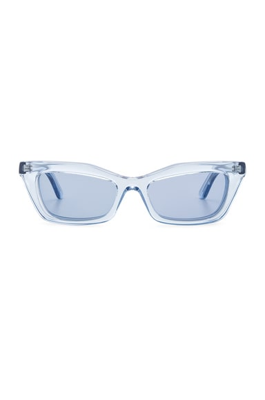 Rectangular Cat Eye Sunglasses
